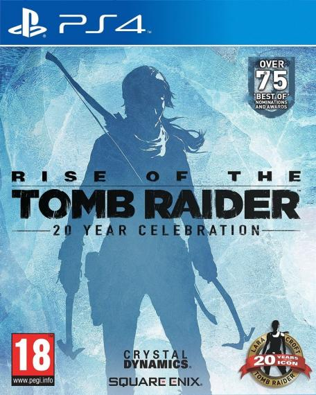 Rise of the Tomb Raider 20 Year Celebration PL PS4