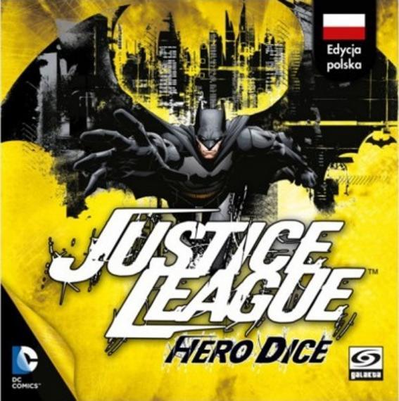 Justice League: Hero Dice - Batman PL Gra Karciana