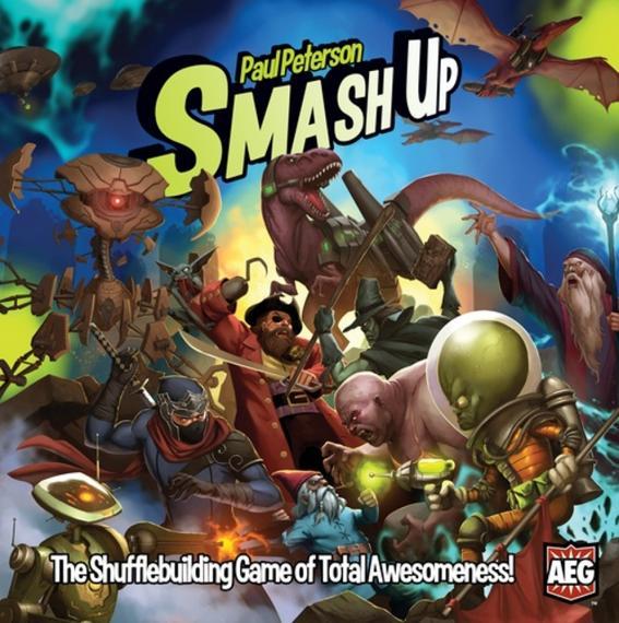 Smash Up Ang. Gra Karciana