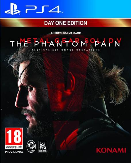 Metal Gear Solid V The Phantom Pain Edycja Day One PS4