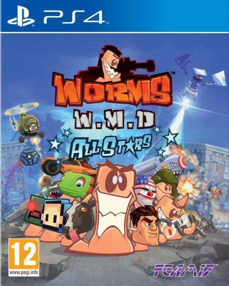 Worms W.M.D PL + DLC PS4