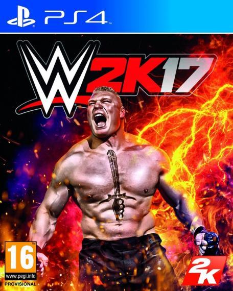 WWE 2K17 + Dlc PS4