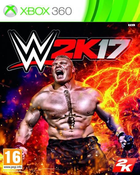 WWE 2K17 + Dlc XBOX 360