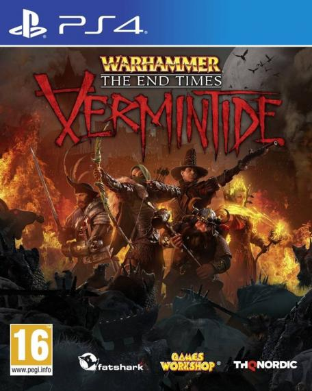 Warhammer The End Times Vermintide PL PS4