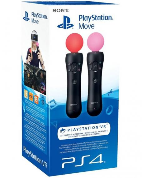 PlayStation Move Controller Twin Pack - PS4 VR