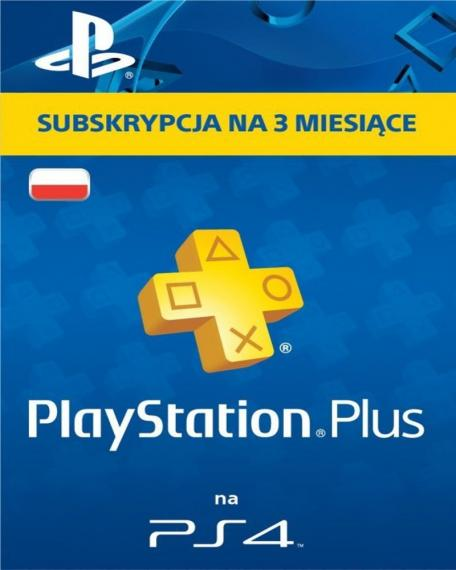 Sony Subskrypcja PlayStation Plus (3 m-ce karta zdrapka)