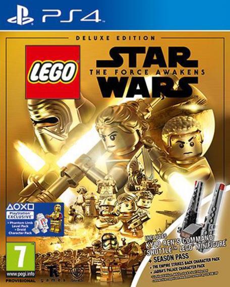 Lego Star Wars Przebudzenie Mocy PL Deluxe Edition PS4