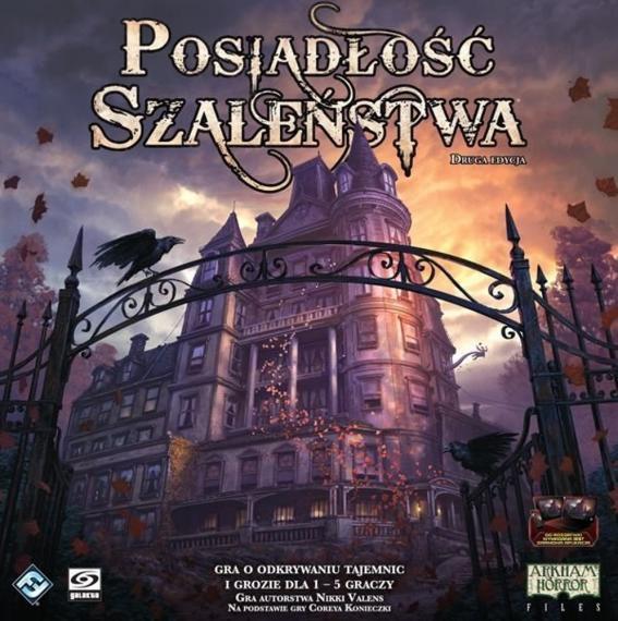 Posiadłość Szaleństwa Druga Edycja PL Planszówka