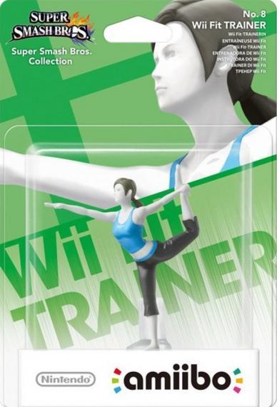 Figurka Amiibo Smash Wii Fit Trainer