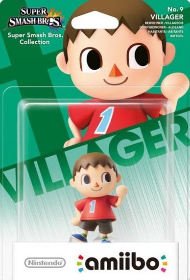 Nr.09 Figurka Amiibo Smash Villager