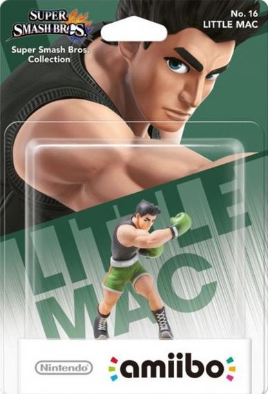 Nr.16 Figurka Amiibo Smash Little Mac