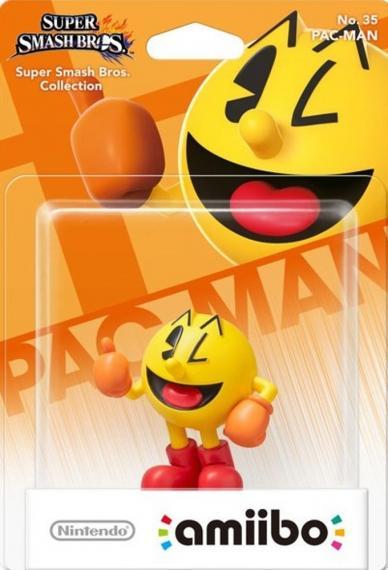 Nr.35 Figurka Amiibo Smash Pac Man