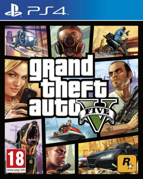 Gta V Grand Theft Auto V PL PS4