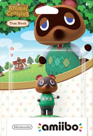 Figurka Amiibo Animal Crossing Tom Nook