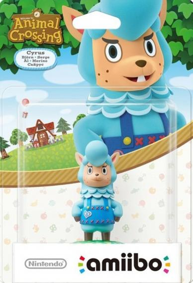 Figurka Amiibo Animal Crossing Cyrus
