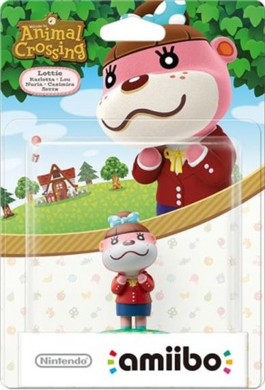 Figurka Amiibo Animal Crossing Lottie