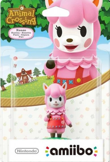 Figurka Amiibo Animal Crossing Reese