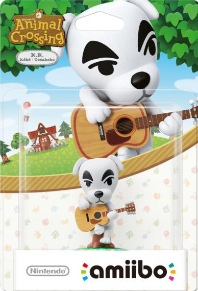 Figurka Amiibo Animal Crossing K.K.