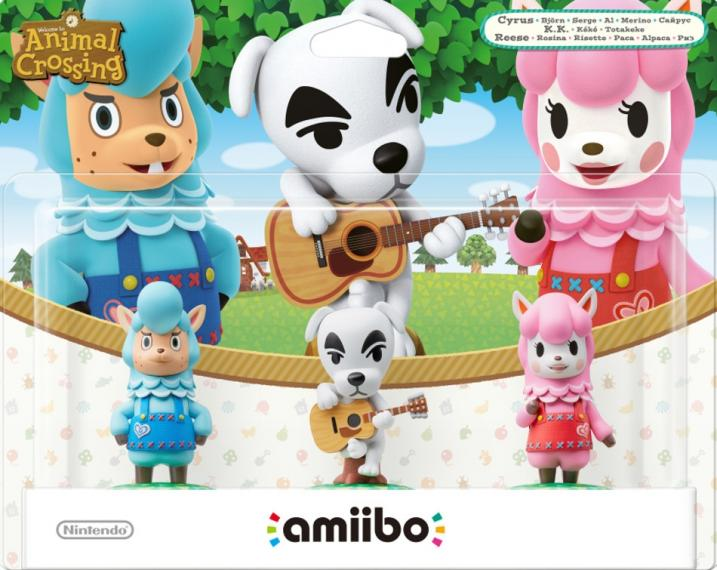 Figurka Amiibo Animal Crossing Cyrus K.K. Reese