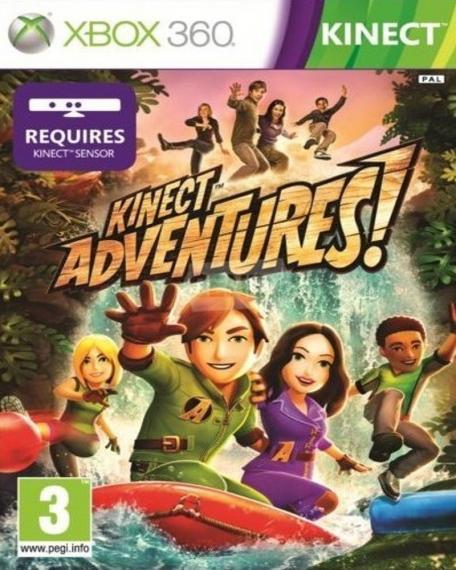 Kinect Adventures PL XBOX 360