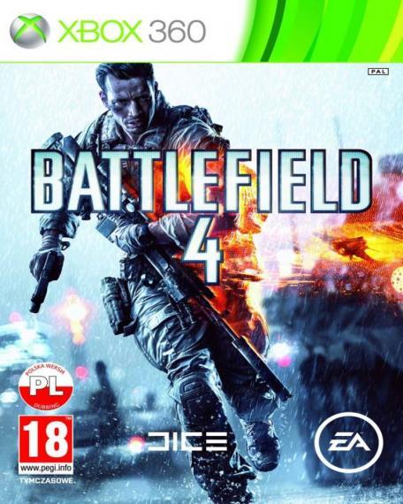 Battlefield 4 PL + Steelbook XBOX 360