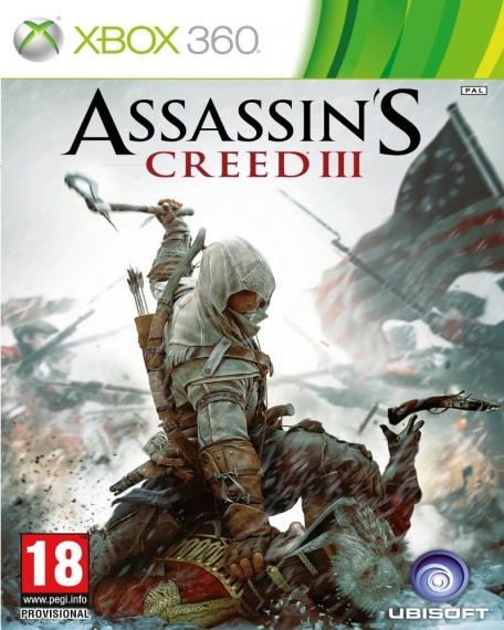 Assassin's Creed III 3 PL XBOX 360