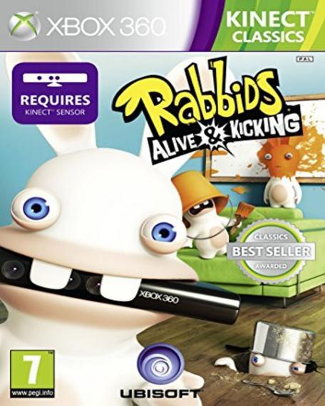 Rabbids Alive & Kicking Szalone Króliki XBOX 360