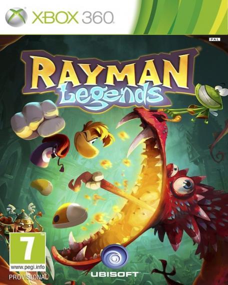 Rayman Legends PL XBOX 360