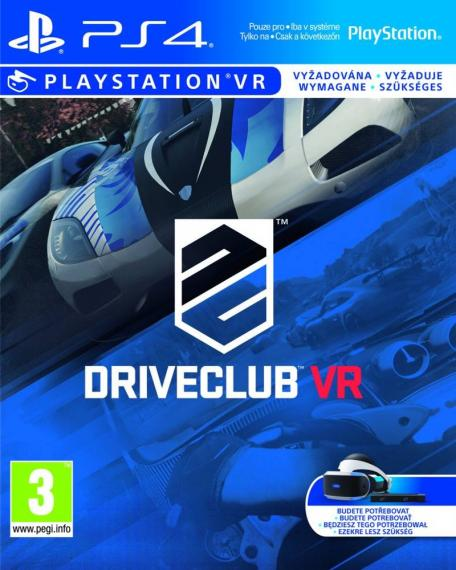 Driveclub VR PL PS4 VR