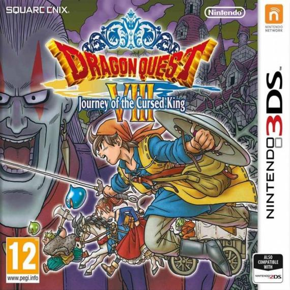Dragon Quest VIII 8: Journey of the Cursed King 3DS