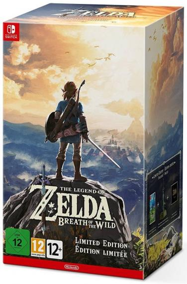The Legend of Zelda Breath of the Wild Edycja Limitowana SWITCH