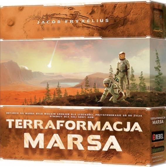 Terraformacja Marsa Planszówka