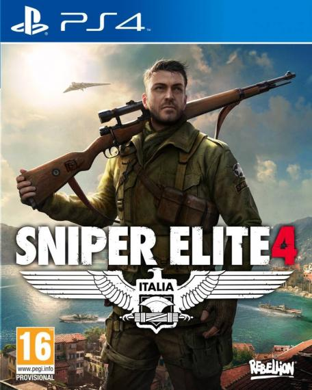 Sniper Elite 4 PL PS4