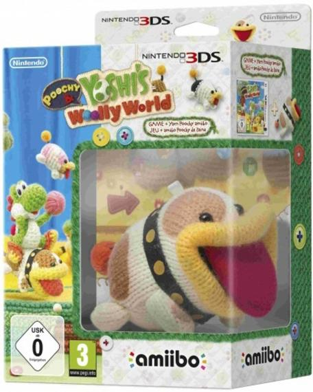 Poochy and Yoshis Woolly World 3DS + Amiibo