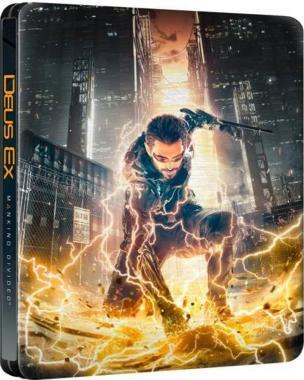 Deus Ex Rozłam Ludzkości PL + Steelbook + DLC PS4