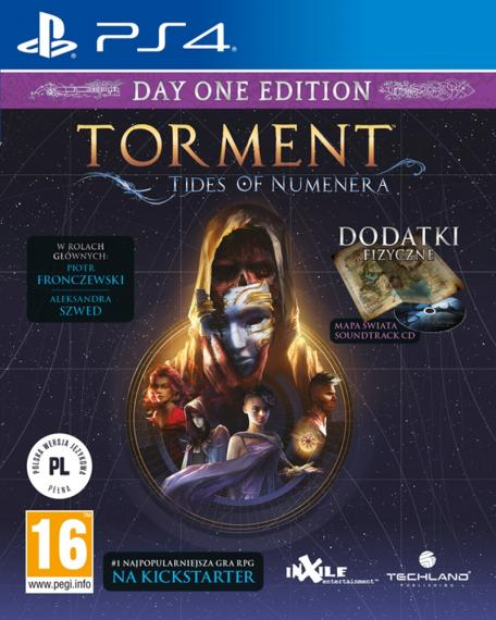 Torment Tides of Numenera Day 1 PL + Steelbook Ps4