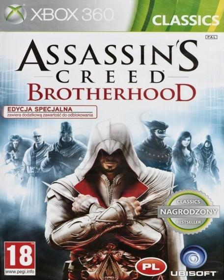 Assassin's Creed Brotherhood PL XBOX 360