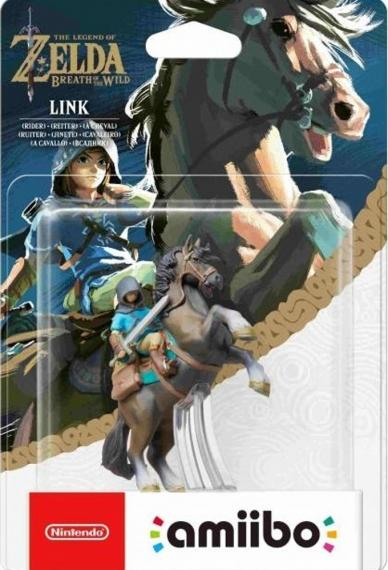 Figurka Amiibo Zelda - Link Rider