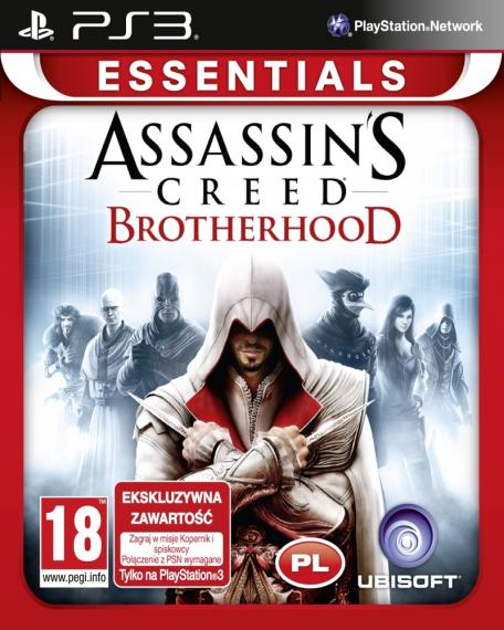 Assassin's Creed Brotherhood PL PS3
