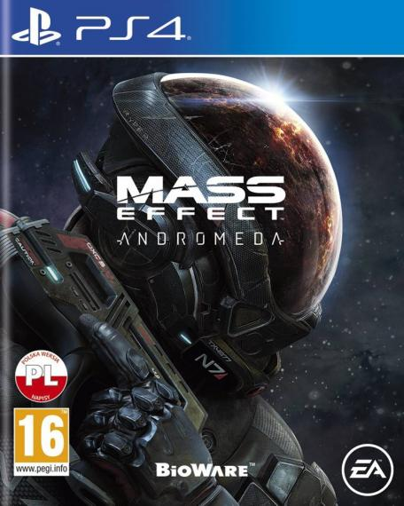 Mass Effect Andromeda + 3 DLC PL PS4