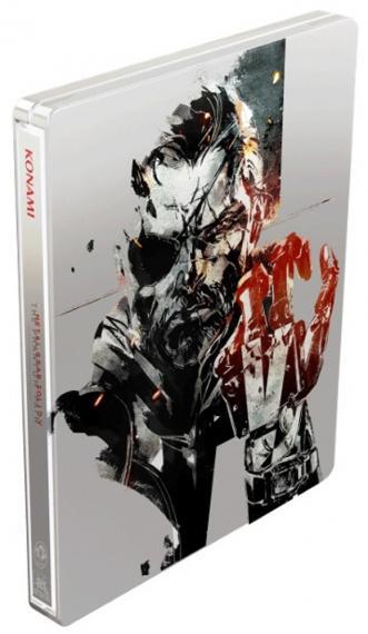 Kolekcjonerski Steelbook Metal Gear Solid V / Mgs V