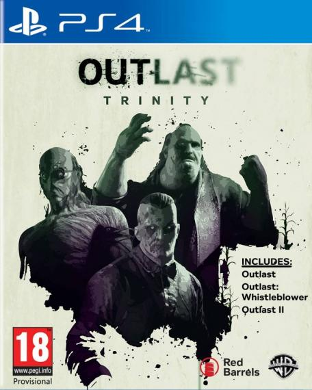 Outlast Trinity PL PS4