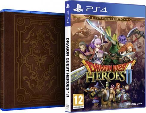 Dragon Quest Heroes 2 II Explorers Edition PS4