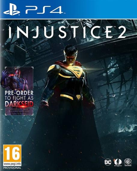 Injustice 2 PL + DLC PS4