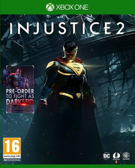 Injustice 2 PL + DLC XBOX ONE