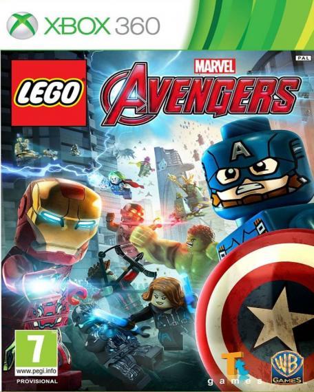 Lego Marvel's Avengers PL XBOX 360