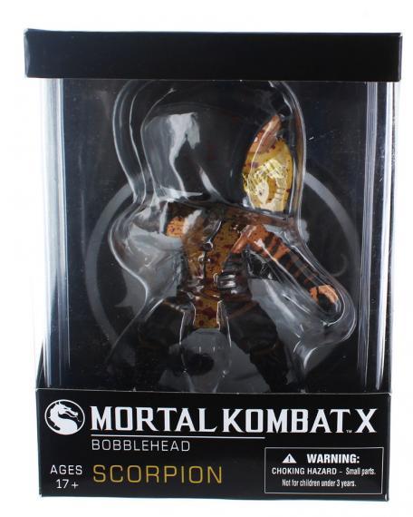 Figurka Mortal Kombat X Scorpion Bobblehead 15 cm.