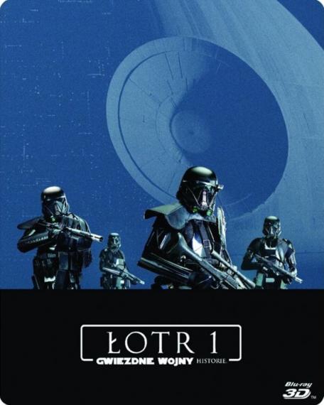 Łotr 1 Gwiezdne wojny – historie 3D. Steelbook (3BD)