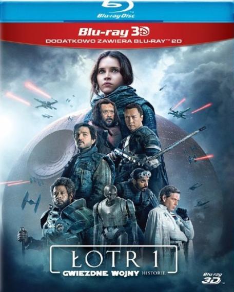 Łotr 1 Gwiezdne wojny – historie 3D (3BD)
