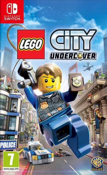 Lego City Undercover Tajny Agent Switch